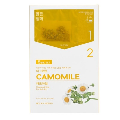 Тканевая маска-чай Holika Holika Instantly Brewing Tea Bag Mask Camomile